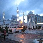 eine der größten Moscheen des Landes