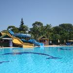 main pool and slides
