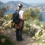 Schöne Aussicht beim Wandern