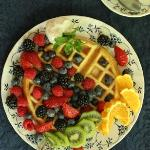 Waffles at Jackson House