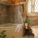 Bathroom of Suite #1 at the Aaron Pancoast Carriage House
