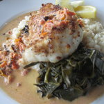 Panko Encrusted Lightly Fresh Carolina Grouper plus..