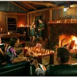 For those who want a fire all year round, try the Slab Hut by the creek