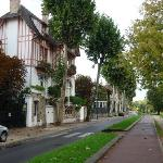 Uralte Häuser in reizvoller Romantik