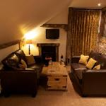 The lounge in one of our self catering apartments