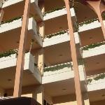las terrazas de las habitaciones