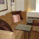 Sleeper sofa in King size room