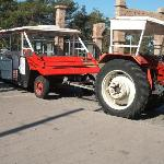 tractor that serves the hotels