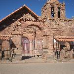località a 1km da Tiwanaku