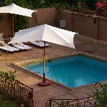 piscine d'une des kasbath