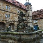 Innenhof mit Brunnen