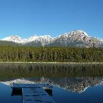 A quiet Patricia Lake morning