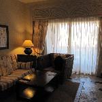Sitting area in our room-Ocean View Junior Suite