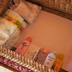All the amenities needed for baby or tot.