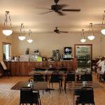 The restaurant - Quaint!