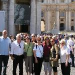 Angelo and the Dotzauer Family at St. Peter's