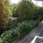 Vista al canal desde nuestra ventana.
