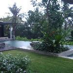 alila residence, garden and pool