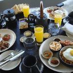 breakfast in the residence