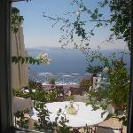 ...our window to Aegean sea...before sunset...