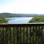 Beautiful view from our deck!