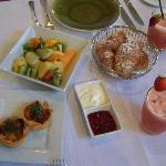 Breakfast at Botanica -Vineyards Estate