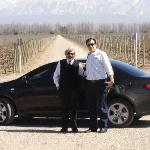 Ernesto nosso motorista na Catena