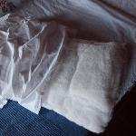l'oreiller de ma fille de 5 ans ! vive les acariens