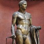 Bronze statue of Hercules over 2,000 years old