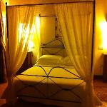 Our bedroom in the Andreocci apartment