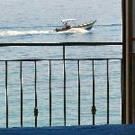 Vista mare dalla camera