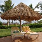 Our pool chairs - Turn them around & watch ocean!