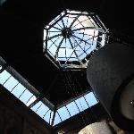 Lobby skylights