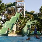 Aquapark with 3 slides