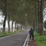 bike ride to surrounding villages of Brugge