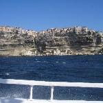 bonifacio vista dal mare