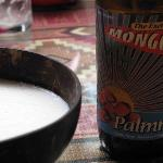Beer can be experienced by drinking from a coconut shell as it would be in Ethiopia