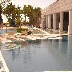 una parte delle 14 piscine persenti