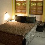 Comfy, even romantic rooms, in good repair