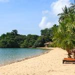 """The """"private"""" beach..."""