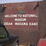 Entrance to Gidan Makama Museum
