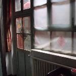 Fenster und Türe zum Innenhof