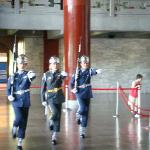 Changing the gaurd at Sun Yat-Sen memorial hall