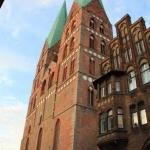 Church - center of Lubeck