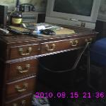 desk in the room