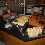 El buffet desayuno
