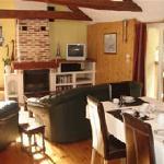 Lounge area in Le Velo Jaune.