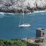la bocca di mare tra portovenere e l'isola palmaria