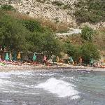 Sommerlicher Sturm am Strand von Glicoria