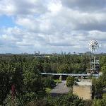 Windrad im Landschaftspark
